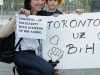 Toronto in solidarity with citizens of B&H<br>Toronto podrzava gradjane BiH