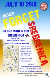 Silent March for Srebrenica