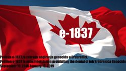 Citizens of Canada to sign a petition against the denial of Srebrenica genocide in Canada