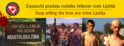 Urgent request to the entity government of Republika Srpska to suspend the sale of the Ljubija mine