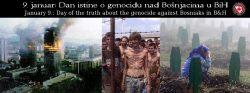 Saopćenje povodom 9. januara Dana početka genocida u BiH