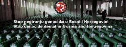 Odvratan prilog negiranja genocida TV Sarajevo, na dan dženaze u Potočarima