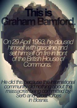 Remembering Graham Bamford