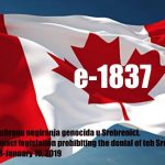 ACTION: Petition e-1837/Government of Canada