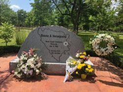 Centralna kanadska komemoracija 24. godišnjice od genocida u Srebrenici