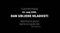 Reakcija na kontinuirano i sistematsko srbijansko negiranje počinjenih zločina na Tuzlanskoj kapiji