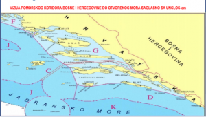"""Read more about the article """"Problem of proclaimed sovereignty of the Republic of Croatia on the maritime territory of Bosnia and Herzegovina"""""""