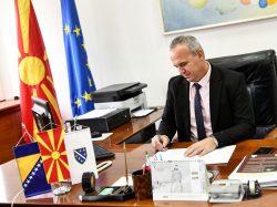 Podrška Potpredsjedniku Skupštine RS Makedonije, Doc. dr. Zećiru Ramčiloviću