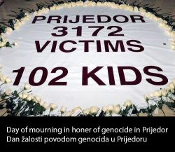 Canadian parliament to discuss Resolution calling Prijedor massacre a genocide