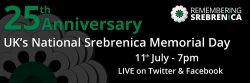 Statement on Srebrenica Memorial Day 2020