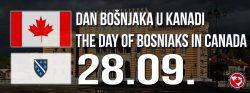 Povodom 28. septembra Dana Bošnjaka