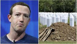 The Institute for Resarch of Genocide Canada has asked Facebook to ban the denial of the Srebrenica genocide on its platform.
