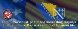 Kanada čestita Dan nezavisnosti BiH:  Kanadski odgovor negatorima nezavisnosti BiH