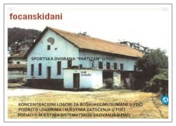 Inicijativa za postavljanje spomen obilježja na Omladinsko-rekreativnom centaru Partizan u Foči